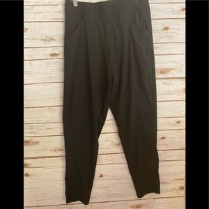 The North Face black  nylon jogger pant size large